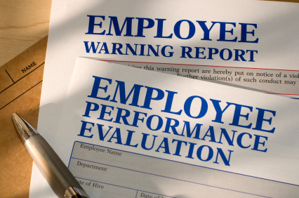 Employee's Warning Report & Performance Evaluation